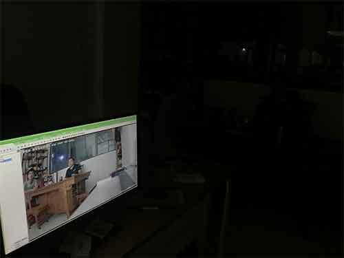 榮恒泰超級夜視攝像機,晚上監控全彩色成像黑光攝像機