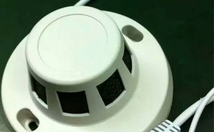 消防烟雾感应器,烟感隐蔽微型摄像头